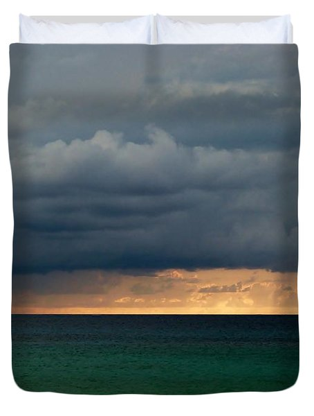 Evening Shadows Duvet Cover by Amar Sheow