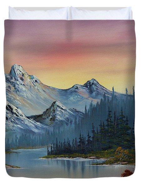 Evening Splendor Duvet Cover by C Steele
