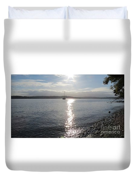 Evening Sunset Duvet Cover