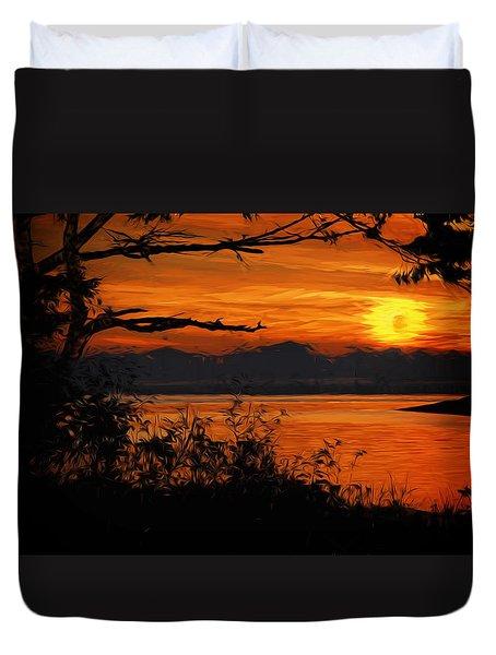 Evening Tide Duvet Cover