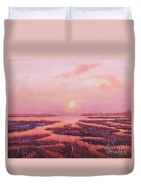 Evening Time Duvet Cover