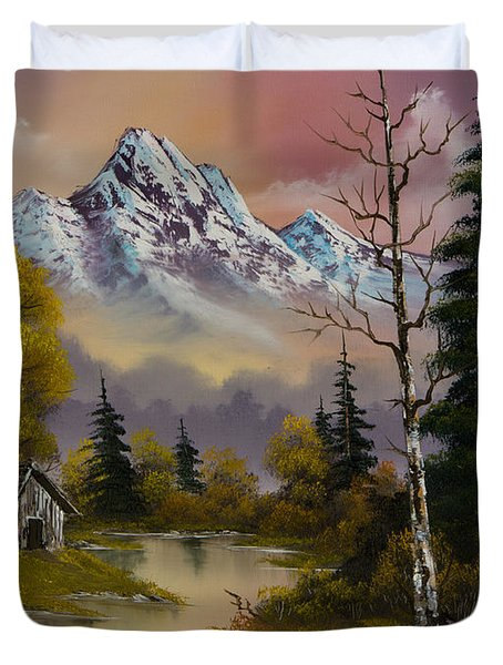 Evening's Delight Duvet Cover by C Steele