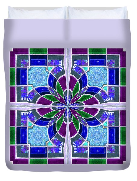 Duvet Cover featuring the photograph Evensong by I'ina Van Lawick