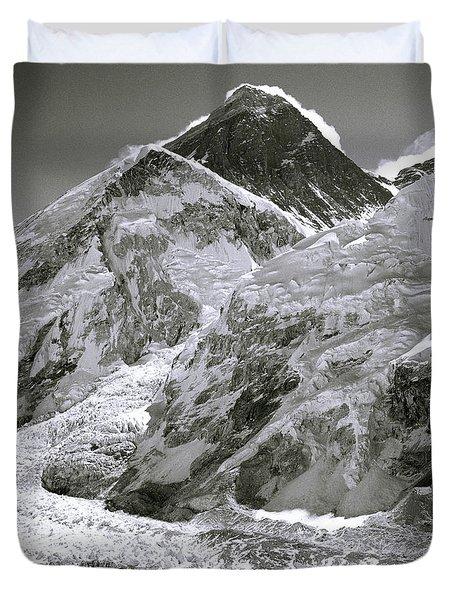 Everest Sunrise Duvet Cover by Shaun Higson