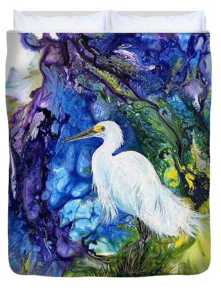 Everglades Fantasy Duvet Cover