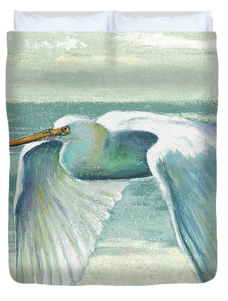Everglades Poster II Duvet Cover