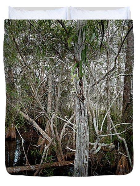 Everglades Swamp-1 Duvet Cover