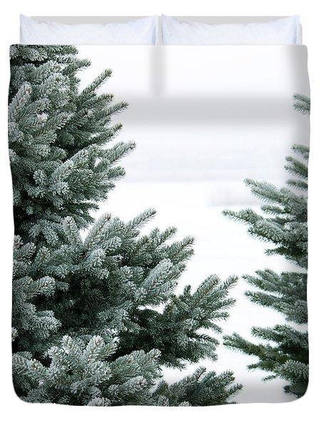 Evergreens Duvet Cover