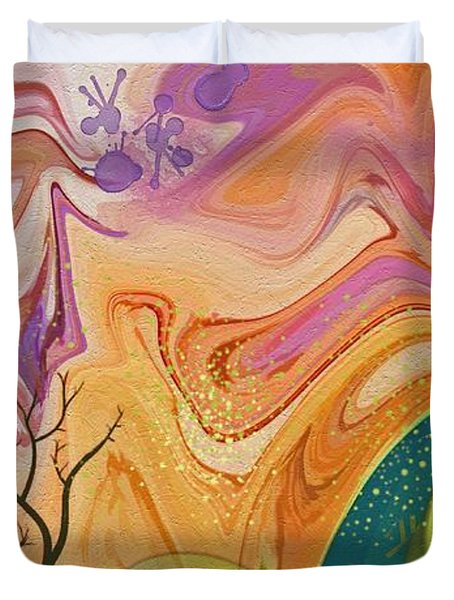 Everlasting Duvet Cover by Peggy Gabrielson