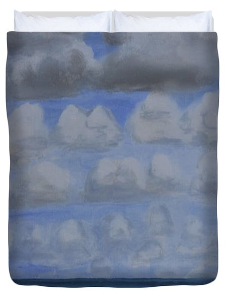 Everyday Is A New Horizon Duvet Cover