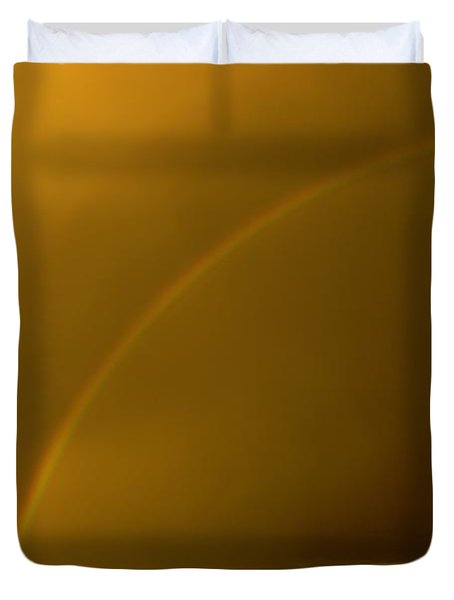 Everyone Needs A Rainbow Duvet Cover by Jeff Swan