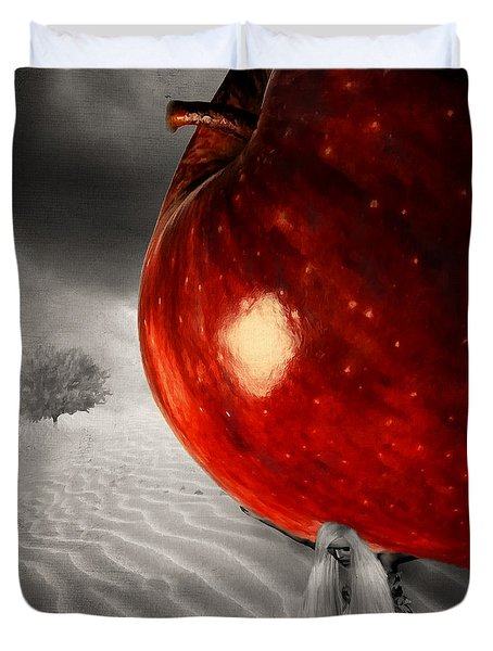 Eve's Burden Duvet Cover by Lourry Legarde