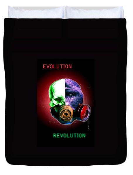 Evo-revo Duvet Cover