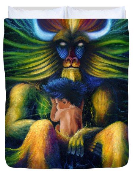 Evolution Duvet Cover by Kd Neeley