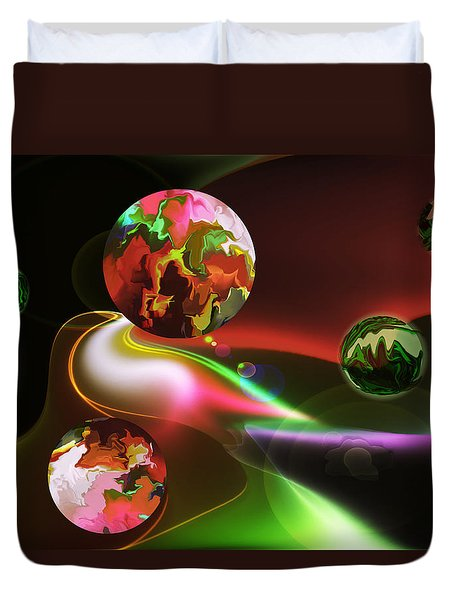 Exotic Worlds Duvet Cover