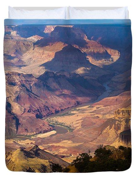 Expanse At Desert View Duvet Cover