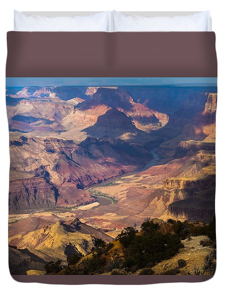 Expanse At Desert View Duvet Cover