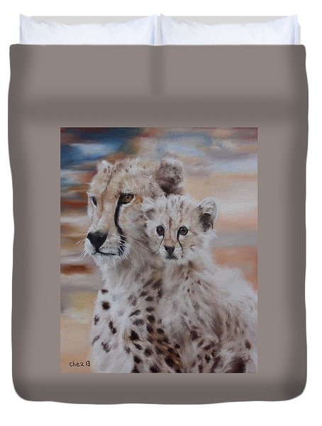 Expectation Duvet Cover by Cherise Foster