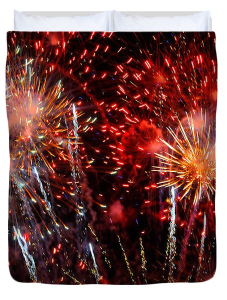 Explode Duvet Cover by Diana Angstadt