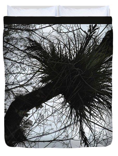 Exploding Branch Duvet Cover