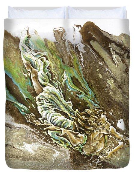 Explore Duvet Cover by Karina Llergo