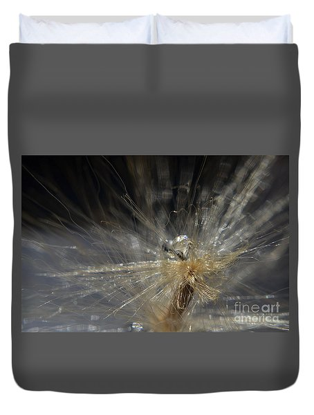 Duvet Cover featuring the photograph Explosion by Michelle Meenawong