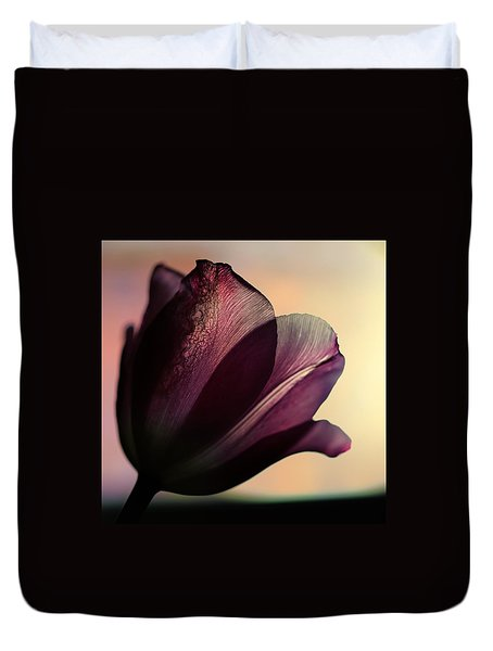 Exquisitely Fine Duvet Cover by Shirley Sirois