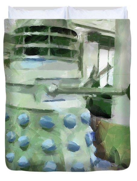 Exterminate Duvet Cover by Steve Taylor