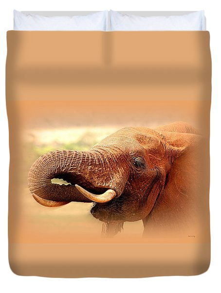 Extinction Is Forever Duvet Cover