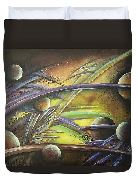 Extraterrestrial Duvet Cover