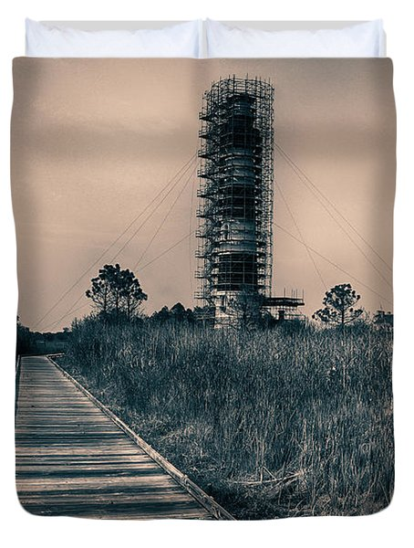 Extreme Makeover Lighthouse Edition Duvet Cover