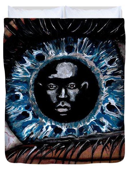 Eye Contact Duvet Cover