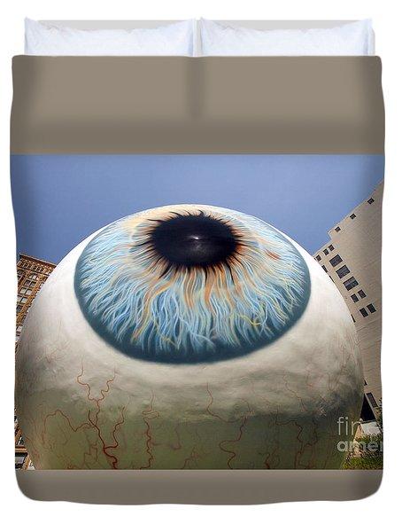 Eye Gigantus Duvet Cover
