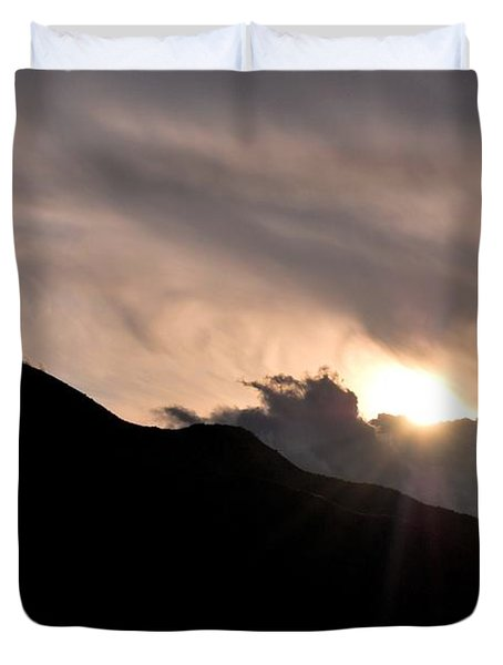 Eye In The Sky Duvet Cover by Matt Harang