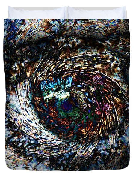 Eye Of A Hurricane Called You Duvet Cover by Elizabeth McTaggart