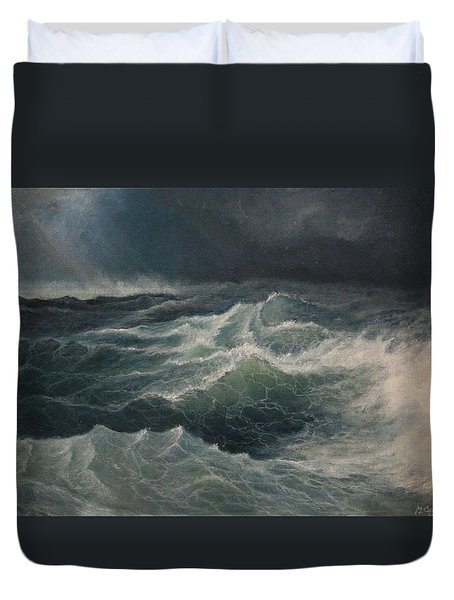 Eye Of Storm Duvet Cover