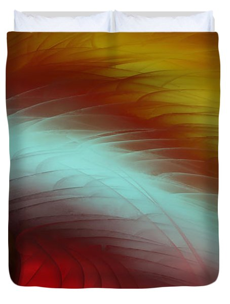 Eye Of The Beast Duvet Cover by Anita Lewis