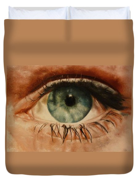 Eye Of The Beholder Duvet Cover by Cherise Foster