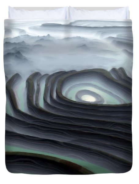Eye Of The Minotaur Duvet Cover