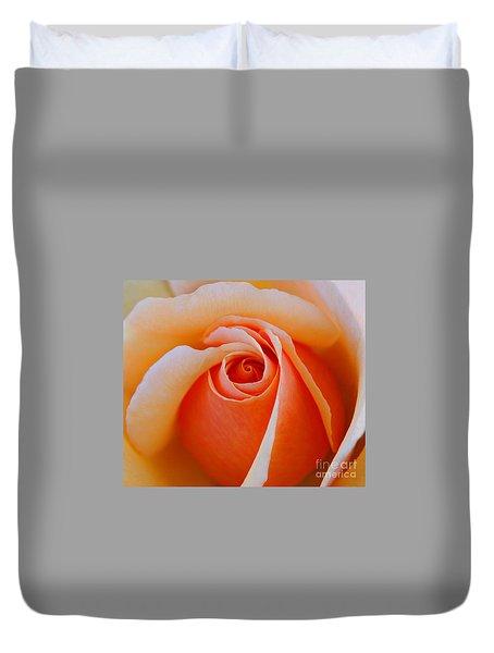 Eye Of The Rose Duvet Cover