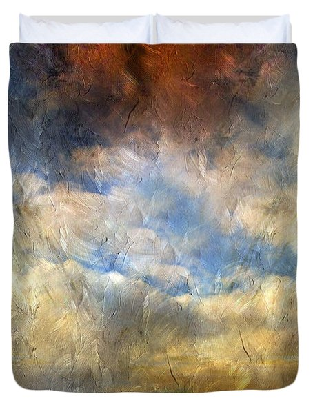 Eye Of The Storm  - Abstract Realism Duvet Cover