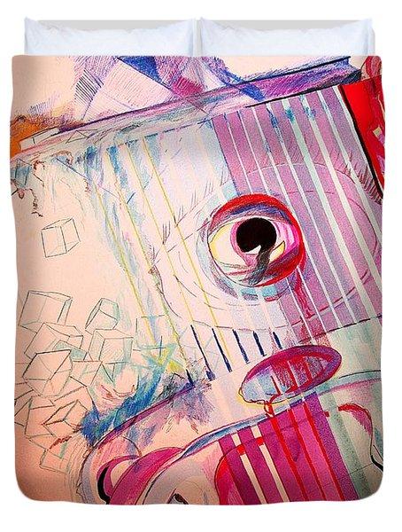Eye On Art Duvet Cover