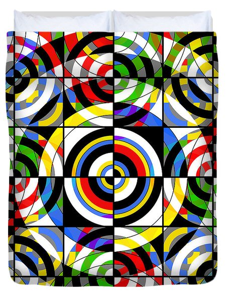 Eye On Target Duvet Cover by Mike McGlothlen