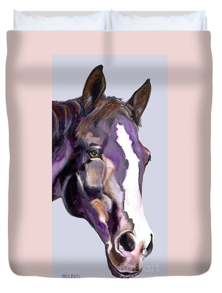 Eye On The Prize Duvet Cover