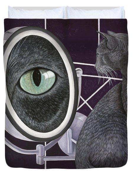 Eye See You Duvet Cover