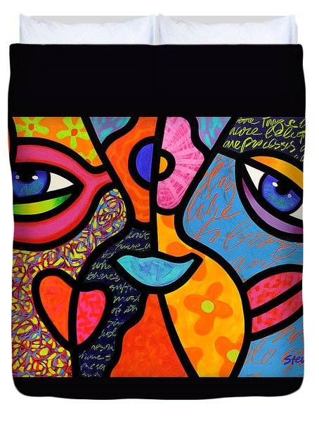 Eye To Eye Duvet Cover
