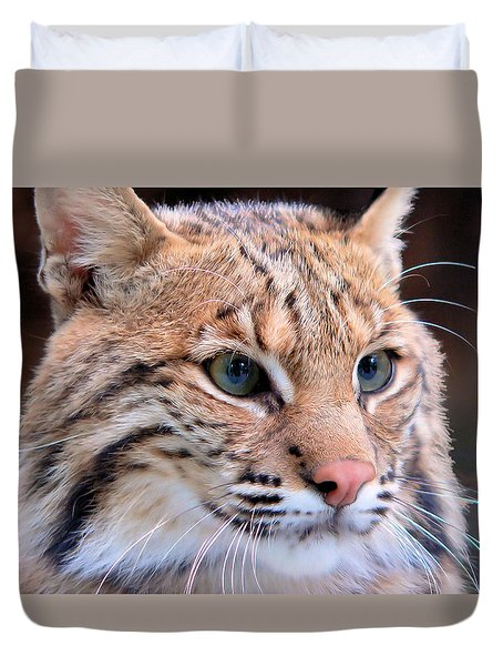 Eyes Of A Lynx Duvet Cover