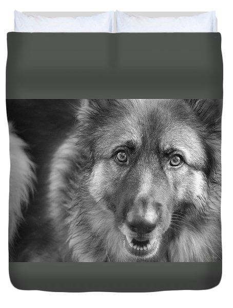 Eyes Only For You Duvet Cover