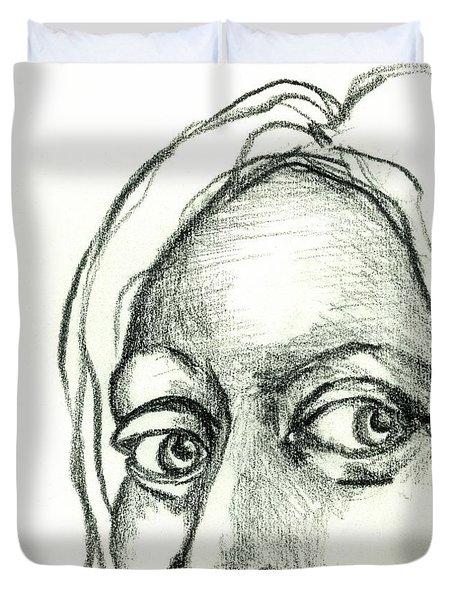 Eyes - The Sketchbook Series Duvet Cover
