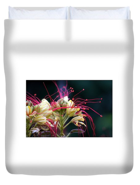 Fab Flower Duvet Cover by Debi Demetrion